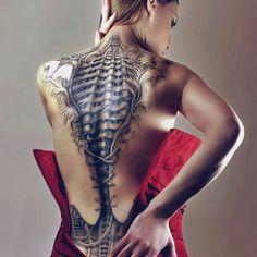 Illusion tattoo