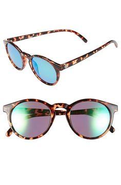 Sunski 'Dipsea' 50mm Round Polarized Sunglasses   Nordstrom