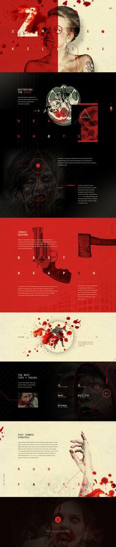 Moktober Fest continue with Zombie Killing Ui design by Ben Johnson @ElegantSeagulls