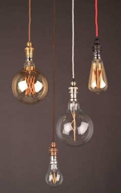 Our brand new range of LED squirrel cage bulbs --- www.fritzfryer.co.uk
