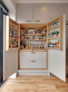 #LoveLimeLace @LimeLace - I'm feeling total envy towards this massive larder style cupboard. I could get all my essentials in here and then some x
