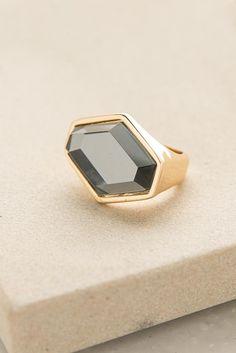 Mirror, Mirror Ring in Gold + Grey | ShopDressUp.com
