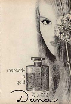 Dana 20 Carats Perfume Bottle (1964)  (Unfortunately, no longer available)