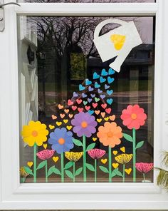 Classroom Crafts, Preschool Crafts, Kids Crafts, Arts And Crafts, Paper Crafts, Decoration Creche, Class Decoration, School Decorations, Spring Crafts For Kids