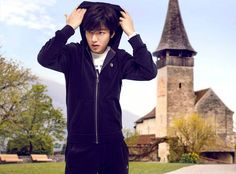 Lee Min Ho for FILA 2014 Fall Collection