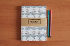 Paper & Ink Stationery by Eda Sy, via Behance