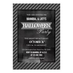 Free Printable Halloween Party Invitations | Call Me Victorian