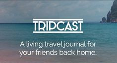 This Travel Journal App Lets You Share Details of Your Trip Securely #travel trendhunter.com