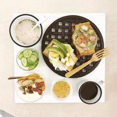 39 個讚,1 則留言 - Instagram 上的 s_s(@s_s_o_o_s_s_o_o):「 . good morning thursday :-3))) . #goodmorning #morning #breakfast #yummy #goodfood #instafood… 」