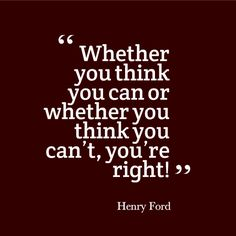You're right!   #MotivationalMonday