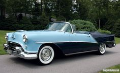 Oldsmobile 98 Starfire Convertible 1954. Brought to you by #House of #Insurance in Eugene, Oregon