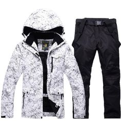 Men or Women Snow Jackets Snowboarding sets Winter Outdoor Sports ski wear  Waterproof Thicken Warm Costume jackets and pants. be6c782a7