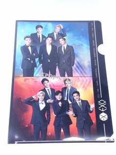 EXO KPOP Clear File Folder