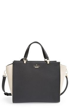 Boots & Handbags - Kate Spade New York 'chelsea square - hayden' leather tote available at #Nordstrom