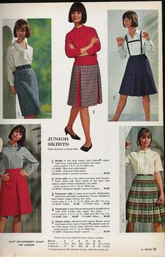 Colleen Vintage Looks, Vintage Style, Vintage Fashion, Colleen Corby, Teen Skirts, 1960s Outfits, American Teen, Seventeen Magazine, What I Wore