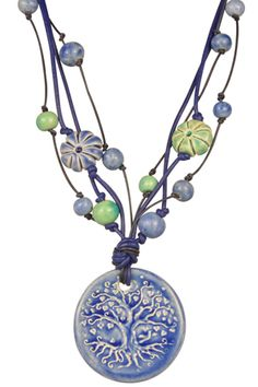 Tree of Serenity Claycult Necklace