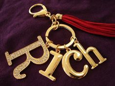 Feng Shui Rich Amulet with Red Tassel Keychain Feng Shui Wealth, Tassel Keychain, Artificial Leather, Leather Tassel, Red Color, Tassels, Charmed, Personalized Items, Amulets