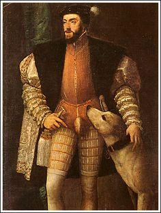 Nel 1519 fu eletto imperatore.