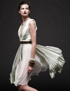 stormtrooperfashion:  Bette Franke by Daniel Jackson for the J. Mendel SS 2013 Campaign