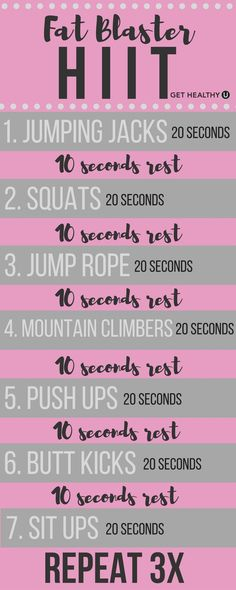 Workout Motivation: I have goals Damnit! This HIIT workout is the perfect way to kickstart your metabolism and melt off fat! Do this quick workout in around 10 minutes 3-5 times a week to get your body back better than ever!