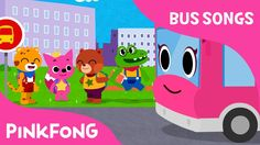 The Wheels on the Pink School Bus | Bus Songs | Car Songs | Pinkfong Son...