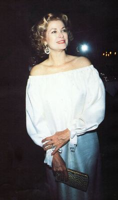 Princess Grace Kelly..1978.. Uploaded By www.1stand2ndtimearound.etsy.com