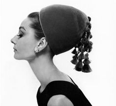 First, lot 287 from the Tanja Star-Busmann Audrey Hepburn collection, Givenchy domed jade green velvet hat from the 1964 Cecil Beaton photograph