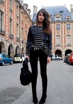 Não há como não ficar inspirada pelo estilo desta it-girl francesa.