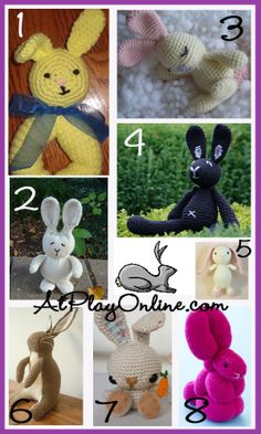 bunnies - free patterns
