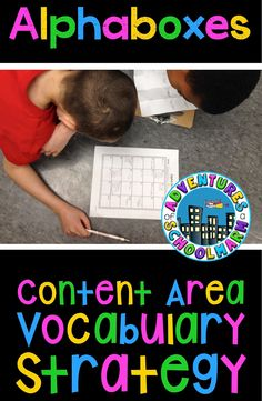 This strategy Activates prior knowledge. It also Activates higher-order thinking skills as students analyze text for words that are in the text. It also provides structure for students! Vocabulary Strategies, Vocabulary Activities, Teaching Strategies, Teaching Ideas, Social Studies Classroom, Classroom Language, Effective Teaching, Content Area, Readers Workshop