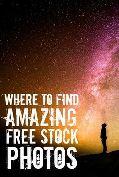 These are the best free stock photo sites to use for your blog or website!
