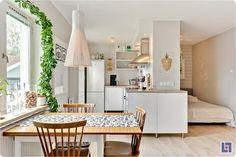 One room apartament idea