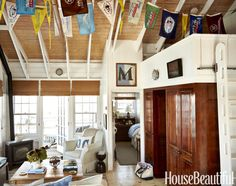 Home Tour: My Dream Nantucket Boathouse - Bright.Bazaar