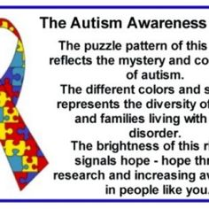 autism Every family is different just as every child is different yet we are united in our compassion and love for our beloved children!