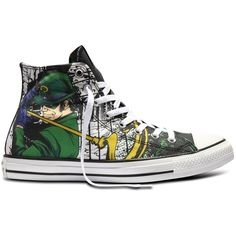 Converse The Riddler DC Comics Batman Sneakers Chuck Taylor All Star... ($80) ❤ liked on Polyvore featuring shoes, sneakers, converse footwear, star sneakers, star shoes, converse trainers and converse shoes