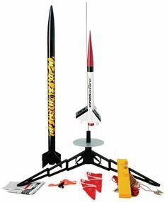 Estes Tandem-X Model Rocket Launch Set - Free Shipping