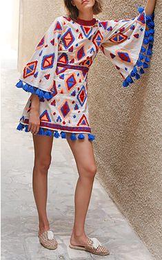Isula Wing Sleeved Mini Dress by MOCHI for Preorder on Moda Operandi Spring Dresses Casual, Trendy Dresses, Dress Casual, Dress Summer, Casual Summer, Spring Outfits, Boho Fashion, Spring Fashion, Womens Fashion