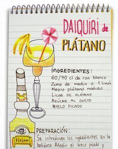 jeanclaudevolldamm: Daiquiri de plátano