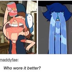 Not ok with this!!! Lapis and bipper comparison is a no no.