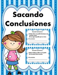 Sacando Conclusiones 2 -Drawing Conclusions... by Cantu's Educational Tools | Teachers Pay Teachers