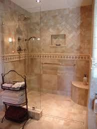 Resultado de imagen para curbless shower in a small bathroom