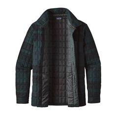M's Recycled Down Shirt Jacket,