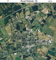 Aerial view of Rural Retreat, Virginia. Cabbage Head, New Hospital, Rural Retreats, Nova Scotia, Aerial View, Family History, Banks, City Photo, Virginia