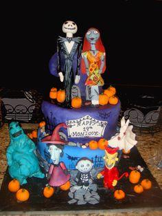 Nightmare before Christmas cake!!!