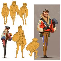 http://experdivolution.blogspot.com ★    CHARACTER DESIGN REFERENCES™ (https://www.facebook.com/CharacterDesignReferences & https://www.pinterest.com/characterdesigh) • Love Character Design? Join the #CDChallenge (link→ https://www.facebook.com/groups/CharacterDesignChallenge) Share your unique vision of a theme, promote your art in a community of over 50.000 artists!    ★