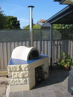 Outdoor brick oven - Mediterranean wood fired brick ovens | Appliancist