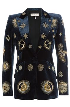 Pucci Embroidered Velvet Blazer / David Bowie would wear this