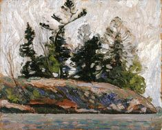 The Athenaeum - Spring, French River (Tom Thomson - )