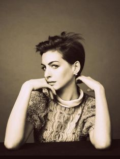 Anne Hathaway's choice to chop off her long locks was admired and was seen as a purposeful statement of comfort in her sexuality.