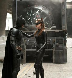 The Batman and Catwoman